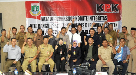 WORKSHOP KOMITE INTEGRITAS HASILKAN 3 SISTEM INTEGRITAS